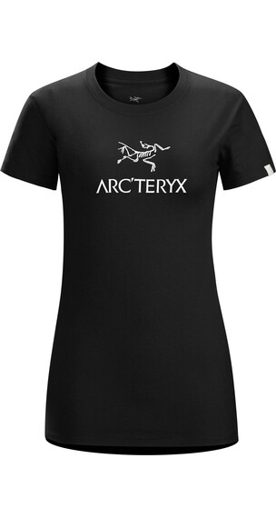 Arc'teryx W's Arc'word SS T-Shirt BLACK/WHITE